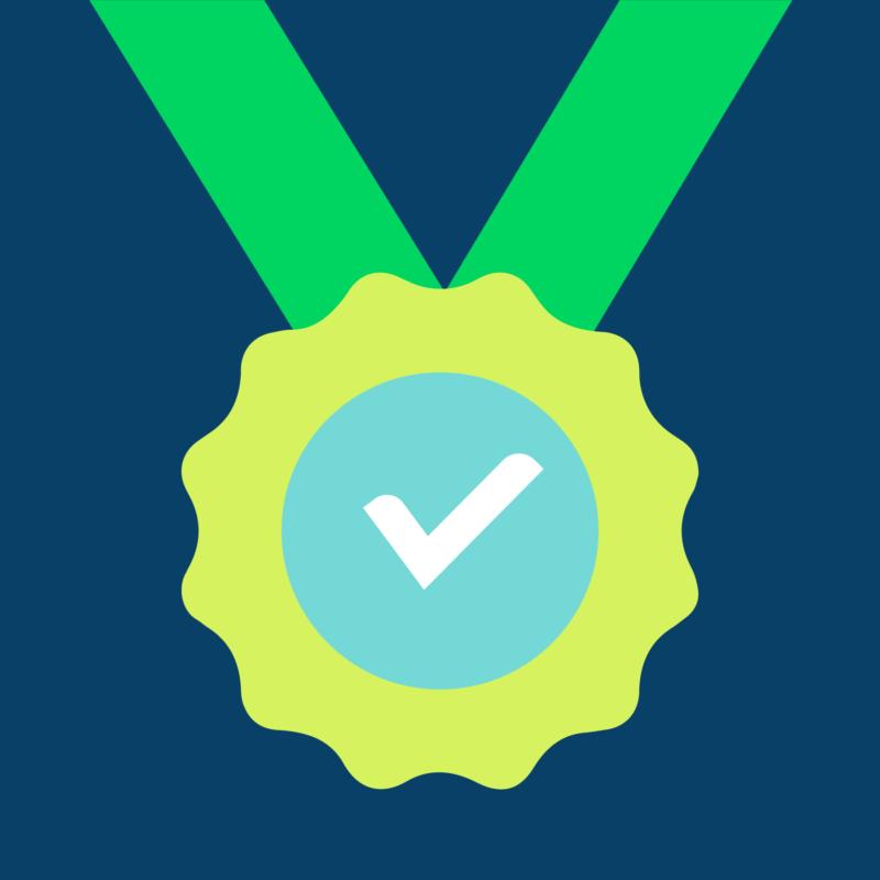 icone médaille réussite vaud plus